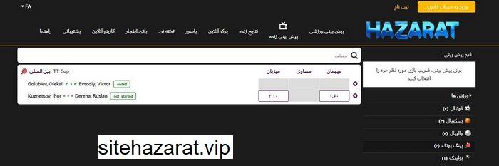 hazarat mix 4 - شرط بندی میکس حضرات بت چگونه است ؟ آموزش تخصصی