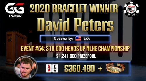 David Peters 5 1 - بیوگرافی دیوید پیترز (David Peters) پوکر باز قهار